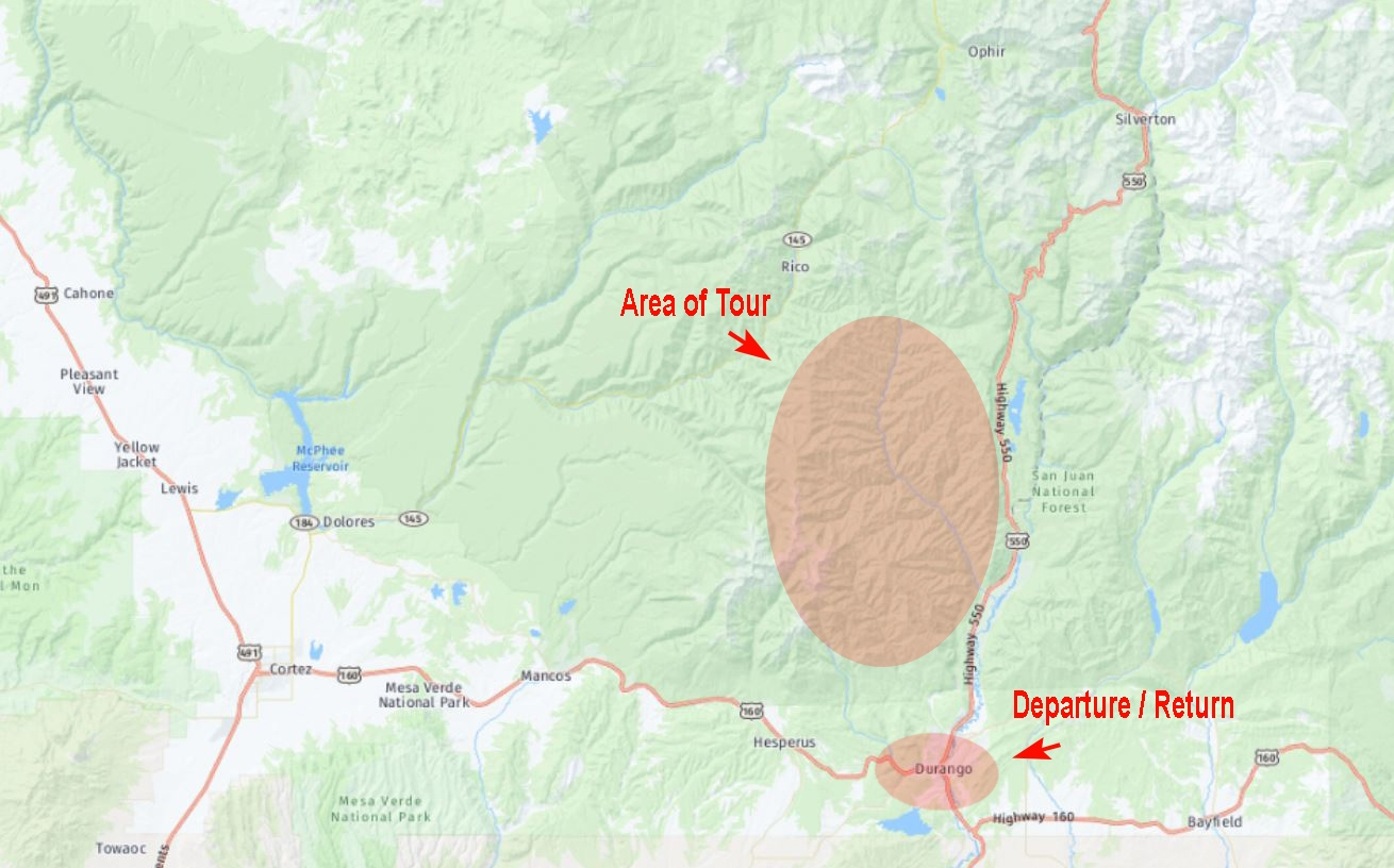 Durango Intermediate Location Map